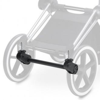 Адаптер/Ось передних колес Matt Black для коляски Cybex PRIAM