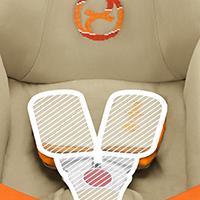 Сверхширокие Y-плечевые ремни: С мягким ремнем и накладками