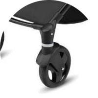 Передние колеса поворотные блокировкой